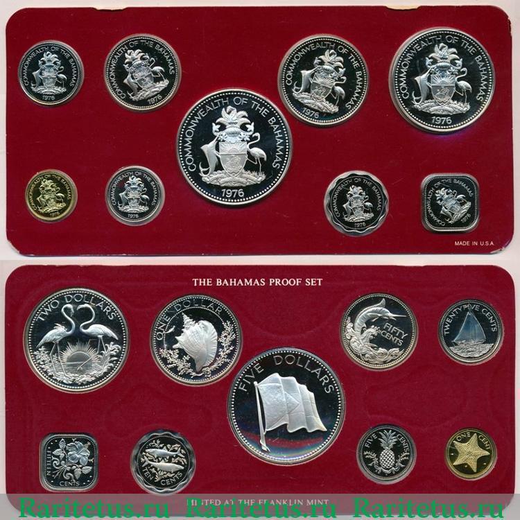 Монеты багамских островов марки парагвая